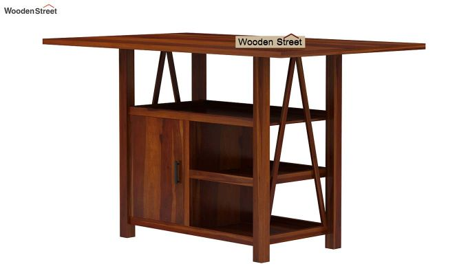 Trudy Kitchen Island (Honey Finish)-6
