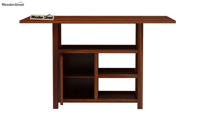 Trudy Kitchen Island (Honey Finish)-7