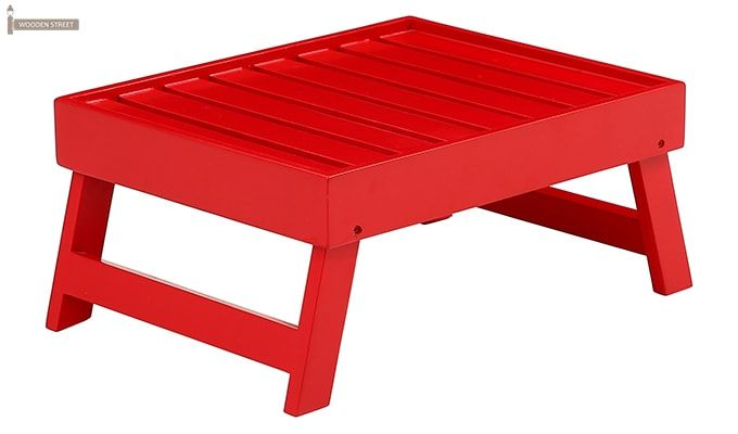 Abbey Laptop Table (Red)-2