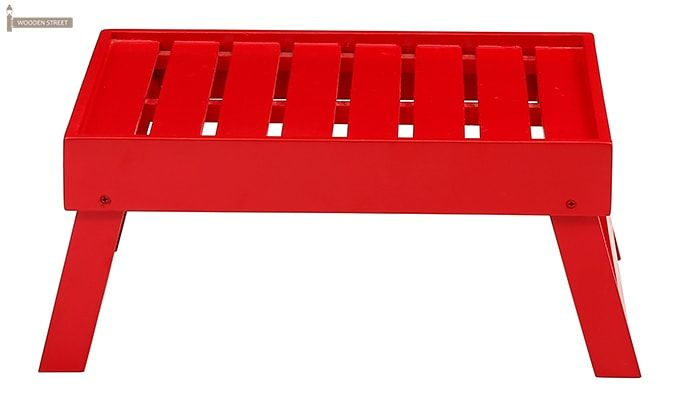 Abbey Laptop Table (Red)-3