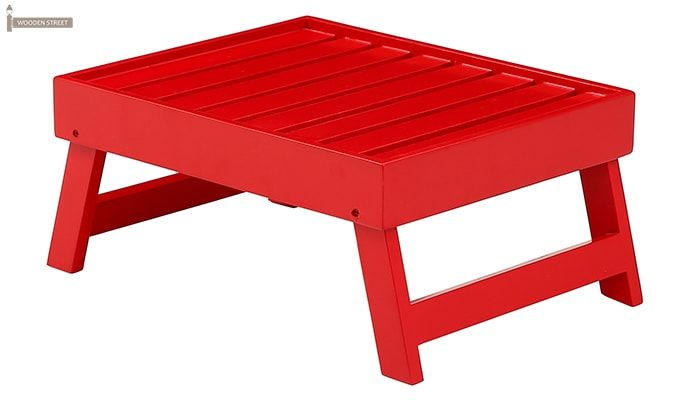 Abbey Laptop Table (Red)-4