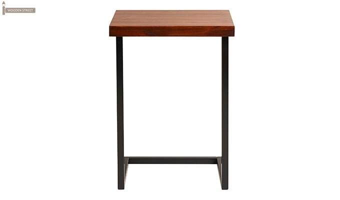 Burliuk Laptop Table (Honey Finish)-2