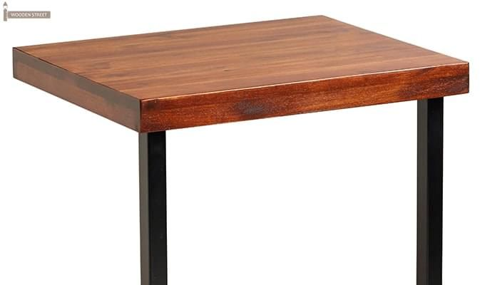Burliuk Laptop Table (Honey Finish)-3