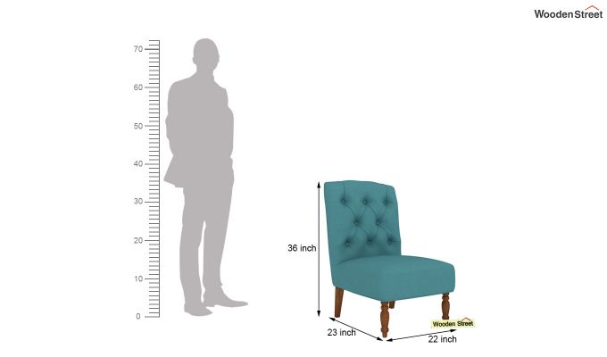 Acuff Lounge Chair (Aqua Marine)-4