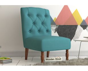 Acuff Lounge Chair (Aqua Marine)