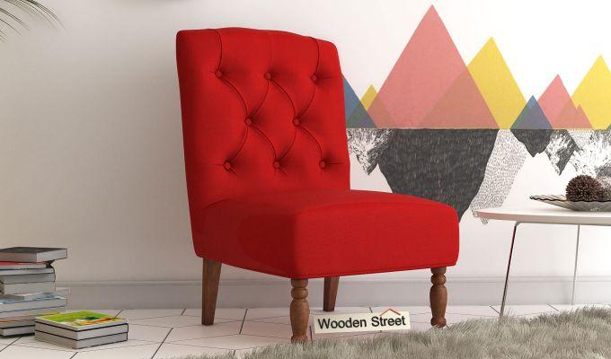 Acuff Lounge Chair (Dusky Rose)-1