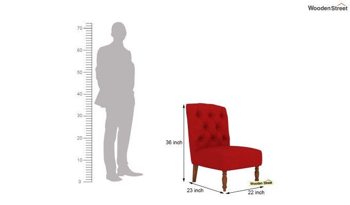 Acuff Lounge Chair (Dusky Rose)-4
