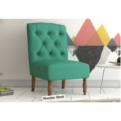 Acuff Lounge Chair (Electric Turquoise)