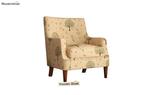 Adoree Arm Chair (Beige Pomme)-2