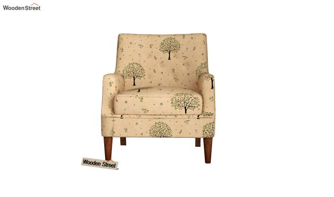 Adoree Arm Chair (Beige Pomme)-3