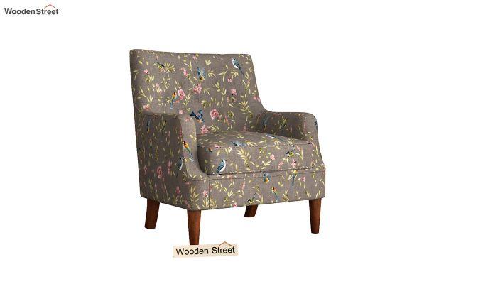 Adoree Arm Chair (Grey Robins)-2