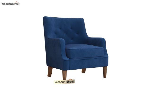 Adoree Arm Chair (Indigo Blue)-2