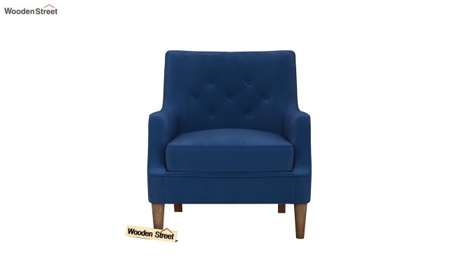 Adoree Arm Chair (Indigo Blue)-3