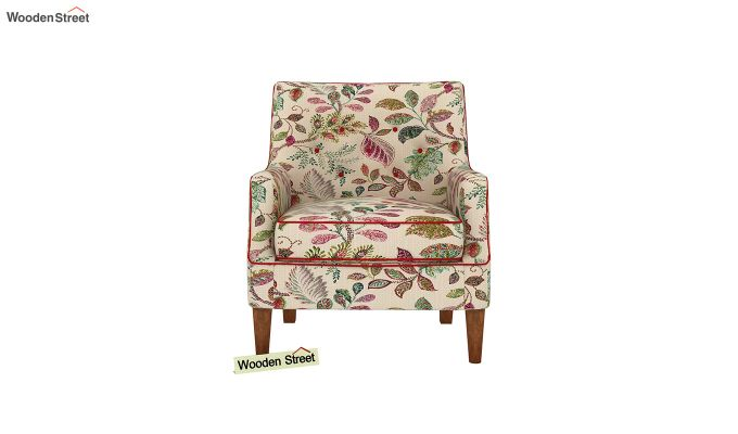 Adoree Arm Chair (Rosy Leaf)-3