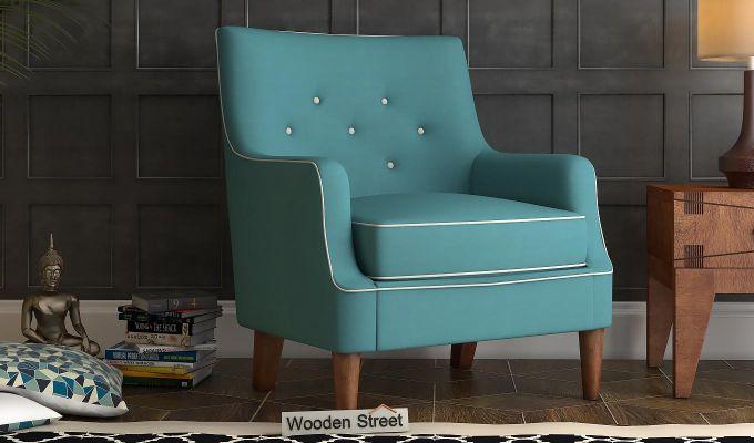 Adoree Lounge Chair (Aqua Marine)-1