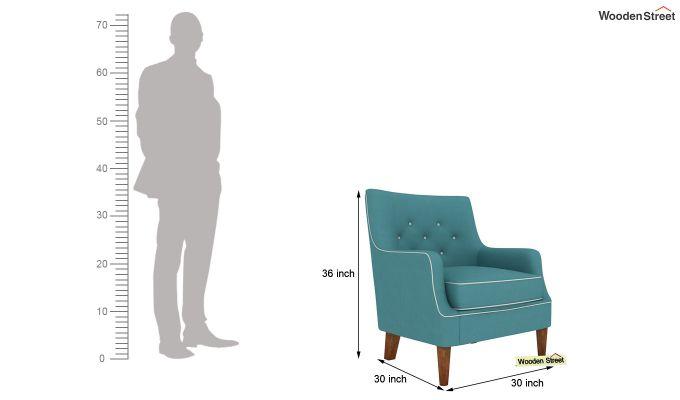 Adoree Lounge Chair (Aqua Marine)-4