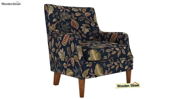 Adoree Arm Chair (Dusky Leaf)-2