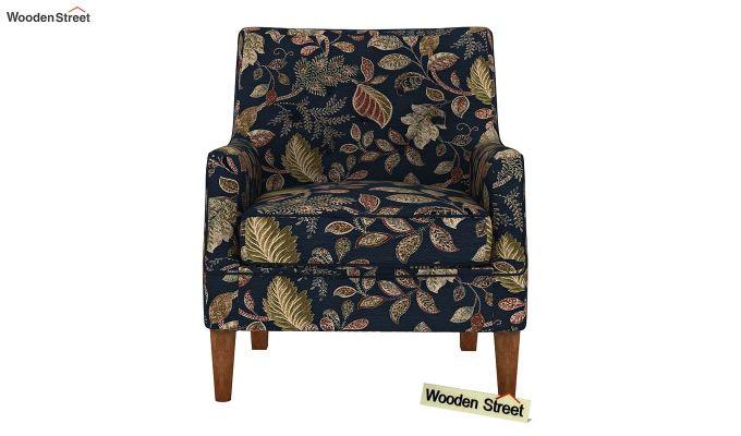 Adoree Arm Chair (Dusky Leaf)-3
