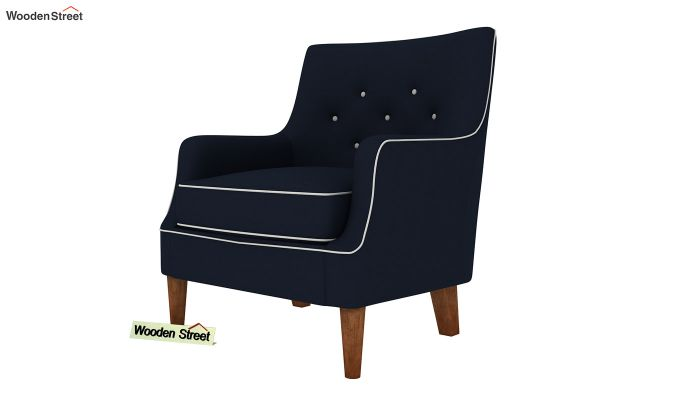 Adoree Lounge Chair (Indigo Ink)-2