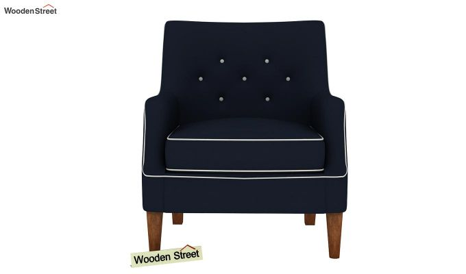 Adoree Lounge Chair (Indigo Ink)-3