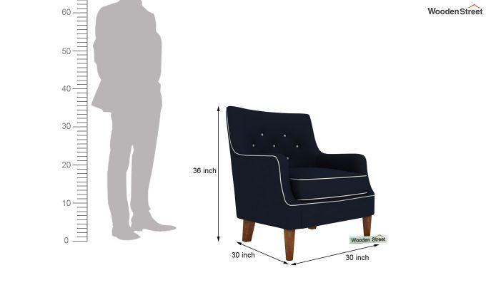 Adoree Lounge Chair (Indigo Ink)-4