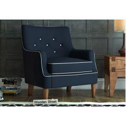 Adoree Lounge Chair (Indigo Ink)