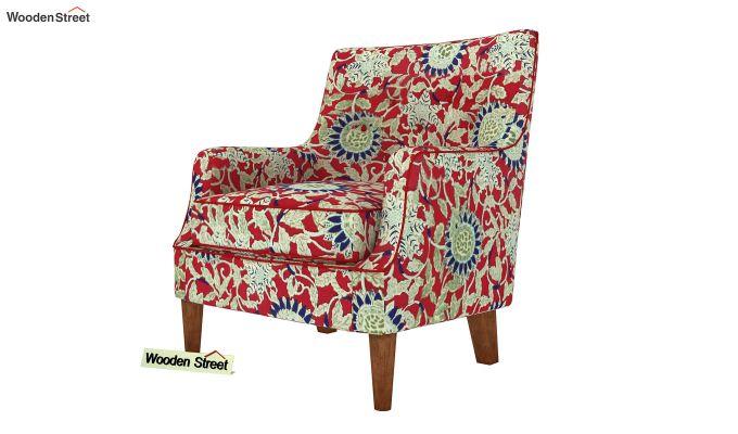 Adoree Lounge Chair (Scarlet Blue)-2