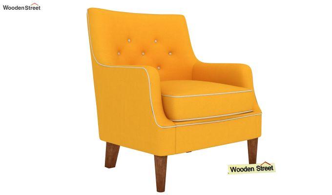 Adoree Lounge Chair (Yellow Blush)-2