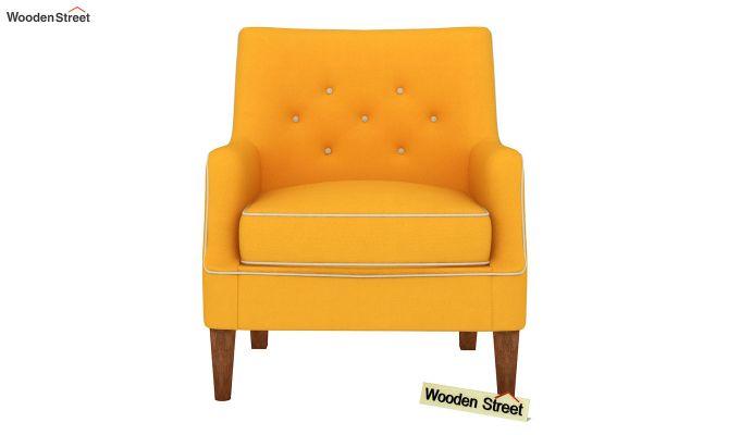 Adoree Lounge Chair (Yellow Blush)-3