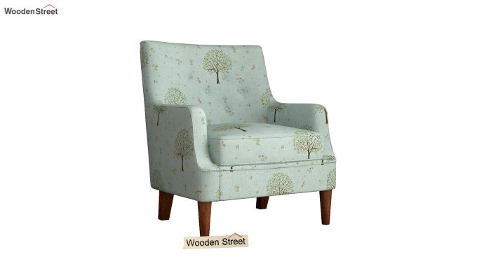 Adoree Arm Chair (Teal Pomme)-2