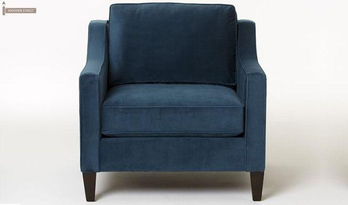 Aherne Wingback Chair (Aqua Marine)-1