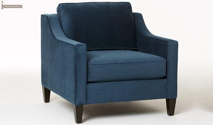 Aherne Wingback Chair (Aqua Marine)-2