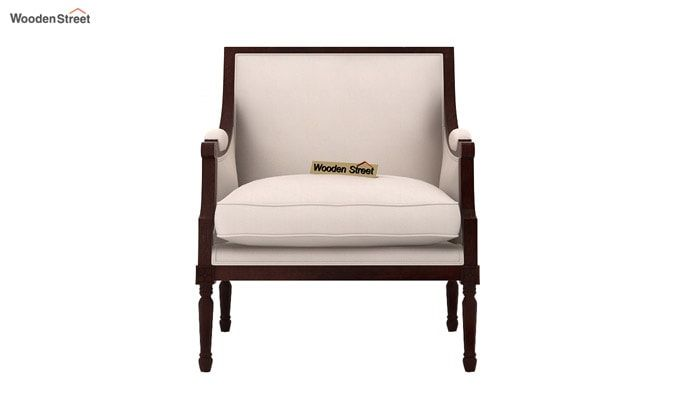 Alpina Lounge Chair (Ivory Nude)-3