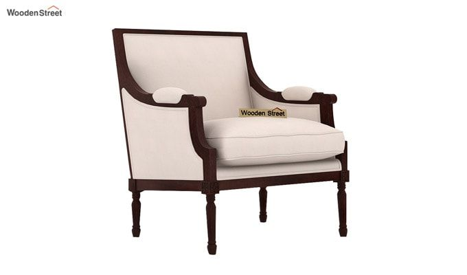 Alpina Lounge Chair (Ivory Nude)-2