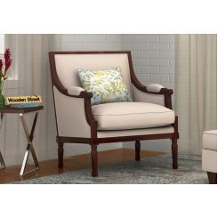 Alpina Lounge Chair (Ivory Nude)