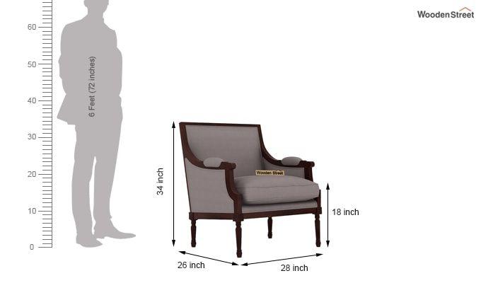 Alpina Lounge Chair (Warm Grey)-3