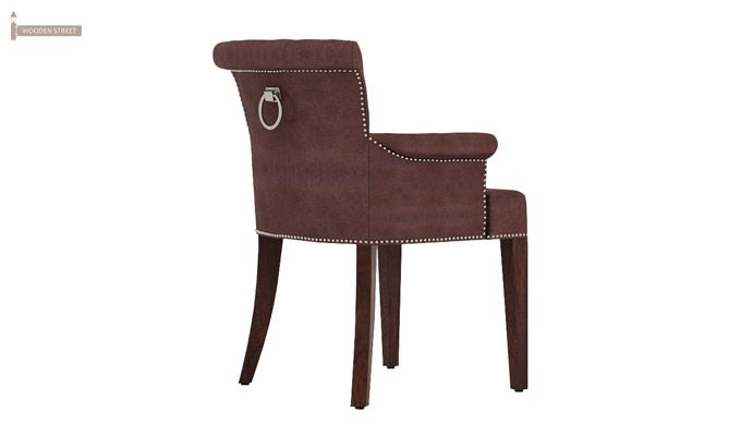 Altra Dining Chair (Leatherette, Dark Chocolate)-3