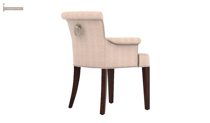 Altra Dining Chair (Leatherette, Rose White)-3