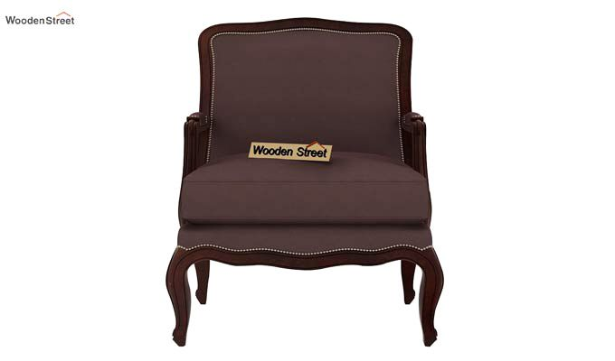 Alves Lounge Chair (Classic Brown)-3