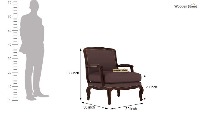 Alves Lounge Chair (Classic Brown)-4