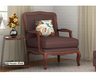 Alves Lounge Chair (Classic Brown)