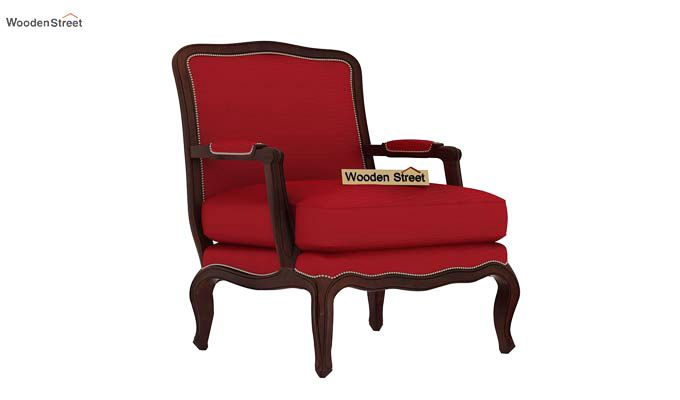 Alves Lounge Chair (Dusky Rose)-2
