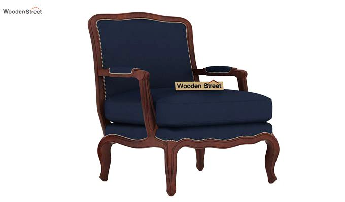 Alves Lounge Chair (Indigo Ink)-2