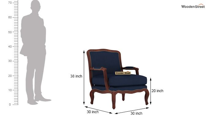 Alves Lounge Chair (Indigo Ink)-5