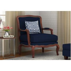 Alves Lounge Chair (Indigo Ink)