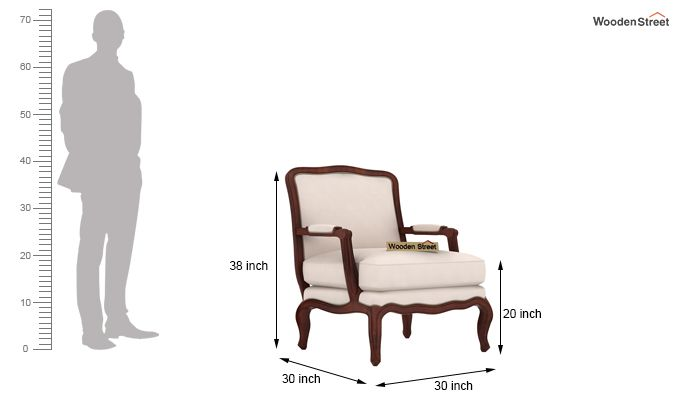 Alves Lounge Chair (Ivory Nude)-4