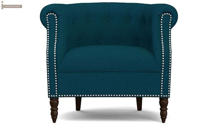 Arnaz Lounge Chair (Ocean)-1