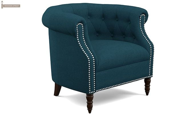Arnaz Lounge Chair (Ocean)-2