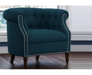 Arnaz Lounge Chair (Ocean)