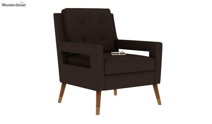 Boris Lounge Chair (Fabric, Classic Brown)-2